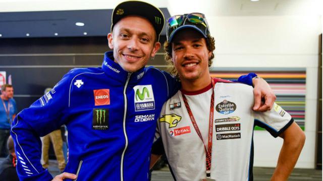 Valentino Rossi dan Franco Morbidelli
