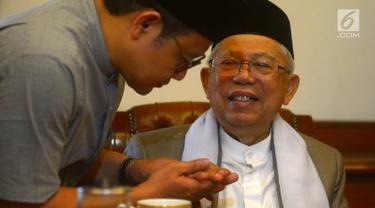 Jelang Tunaikan Haji, Pengurus PBNU Doakan Ma'ruf Amin