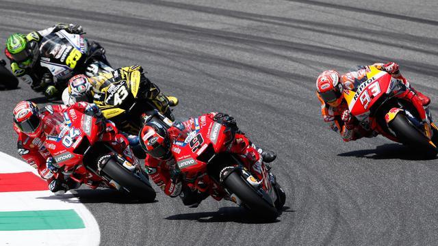 Selebrasi Danilo Petrucci Juara MotoGP Italia