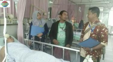 Kemenhub Jawa Timur berikan santunan untuk para korban insiden drama kolosal Surabaya Membara.