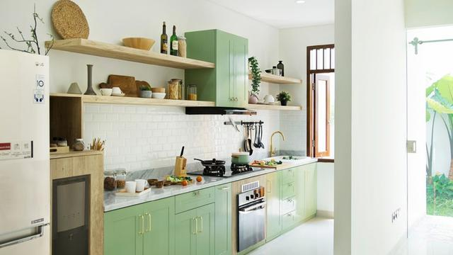 5 Desain Kitchen Set Yang Bikin Dapur Cantik Dan Masak Jadi Asyik Lifestyle Liputan6 Com