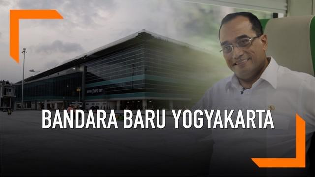 Menteri Perhubungan Budi Karya Sumadi mengecek kesiapan New Yogyakarta International Airport (NYIA) atau Bandara Baru Yogyakarta belum lama ini. Hasilnya, Budi cukup puas dengan pembangunan NYIA.