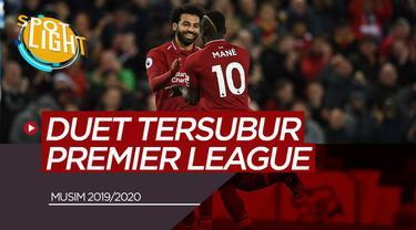 Berita Video Spotlight Mohamed Salah/Sadio Mane dan 4 Duet Tersubur Premier League Musim Ini
