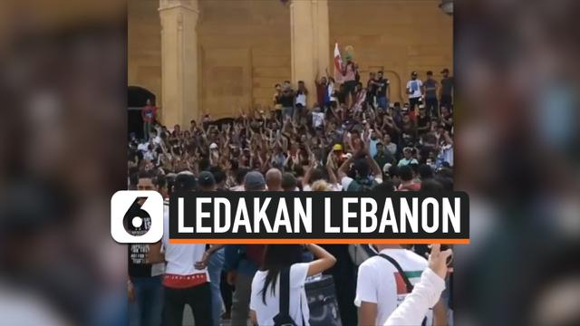 demo lebanon