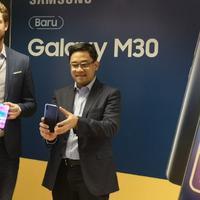 Peluncuran Samsung Galaxy M30. Liputan6.com/Agustinus Mario Damar
