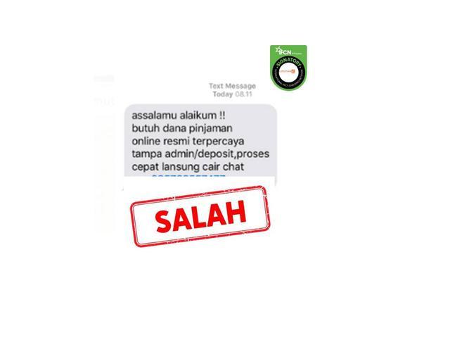 Cek Fakta Waspada Tawaran Pinjaman Online Via Sms Cek Fakta Liputan6 Com