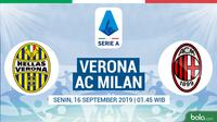 Serie A - Hellas Verona Vs AC Milan (Bola.com/Adreanus Titus)