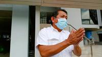 Sekda Riau non aktif, Yan Prana Indra Jaya, terdakwa korupsi anggaran rutin Bappeda Siak. (Liputan6.com/M Syukur)