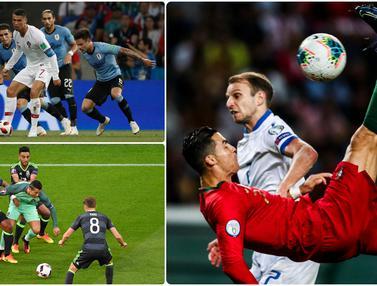 Aksi Keren Cristiano Ronaldo Bersama Timnas Portugal