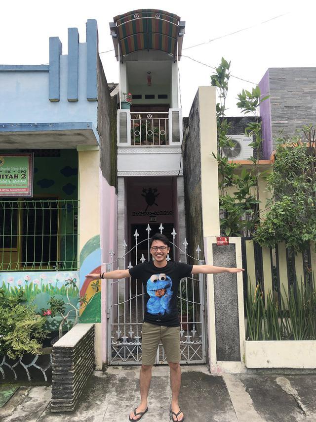 Viral Rumah Mungil dengan Lebar 1 Meter, Warganet Penasaran