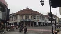 Gedung bersejarah di Jalan Braga Bandung (Liputan6.com / Huyogo Simbolon)