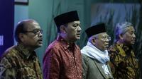 BI menyepakati komitmen pengembangan ekonomi syariah di Indonesia dengan tiga lembaga, yaitu Majelis Ulama Indonesia (MUI), Badan Wakaf Indonesia, dan Badan Amil Zakat Nasional (Baznas). (Liputan6.com/Faizal Fanani)