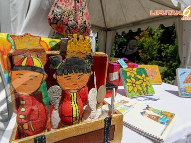 Acara Peringatan Hari Bumi Greenesia diadakan di Taman Mataram, Jakarta, Minggu (20/4/2014). (Liputan6.com/Faizal Fanani)