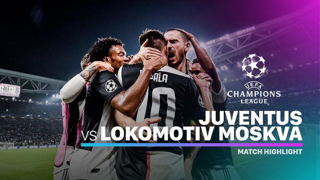 Berita video highlights matchday 3 Grup D Liga Champions 2019-2020 antara Juventus melawan Lokomotiv Moscow yang berakhir dengan skor 2-1, Selasa (22/10/2019).