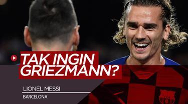 Berita video komentar Lionel Messi menanggapi soal rumor dirinya yang disebut tidak menginginkan Antoine Griezmann di Barcelona.