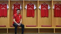 Manajer anyar Arsenal, Mikel Arteta. (Bola.com/Dok. Arsenal)
