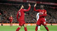 Duet Salah dan Mane membawa Liverpool menghajar Sheffield United (Dok Premier League)