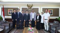 Assistant Minister for Planning and Coordination, Ministry of the Interior and Safety (MOIS) Korea , Lee In-jae bersama Menteri PANRB Syafruddin. (Foto: Kementerian PANRB)