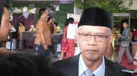 Ketua Umum PP Muhammadiyah Haedar Nasir. (Liputan6.com/Switzy Sabandar)