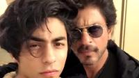 Shahrukh Khan dan si sulung, Aryan Khan. (Instagram/iamsrk)