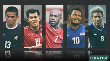 Trivia - Pemain Kiatisuk Senamuang, Khairul Amri, Boaz Solossa, Safee Sali, Noh Alam Shah