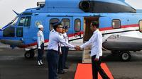 Presiden Joko Widodo (Jokowi) bertolak menuju Provinsi Banten guna melakukan kunjungan kerja, pada Jumat, 6 Desember 2019. Foto: Laily Rachev - Biro Pers Sekretariat Presiden