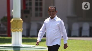 Bahlil Lahadalia dan Zainudin Amali Temui Jokowi di Istana