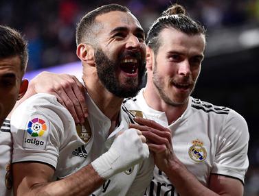 FOTO: Real Madrid Lanjutkan Tren Positif bersama Zinedine Zidane