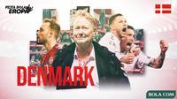 Piala Eropa 2020 - Profil Tim Denmark (Bola.com/Adreanus Titus)