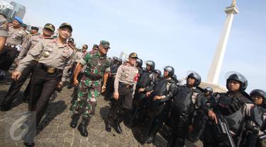 20161103-Ribuan Pasukan TNI dan Polri Ikuti Apel di Silang Monas-Jakarta