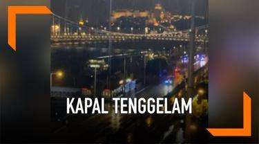 Kapal yang mengangkut turis Korea Selatan tenggelam di sungai Danube Budapest Hungaria hari Rabu (29/5) malam. Kapal tenggelam usai bertabrakan dengan kapal pesiar, 7 penumpang dipastikan tewas.