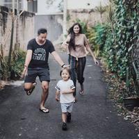 Ringgo Agus Rahman dan Sabai Morscheck (Instagram/ringgoagus)