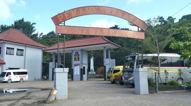 "Pulau Penjara Nusakambangan.Prinsip ""restiratve justice"", penjara adalah jalan terakhir untuk menegakkan peradilan. (Foto: Liputan6.com/Muhamad Ridlo)"