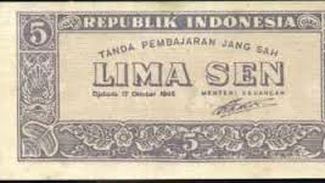 30 September 1946, RI Miliki Mata Uang Sendiri