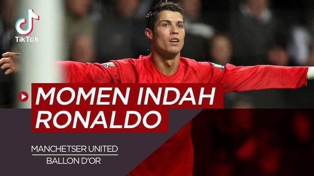 Berita video TikTok kali ini membahas tentang momen indah Cristiano Ronaldo bersama Manchester United.