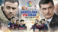 Prediksi Barcelona vs Eibar (Liputan6.com/Abdillah)