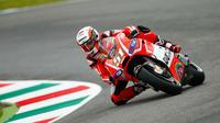 Pebalap pengembang Ducati, Michele Pirro, digadang-gadang jadi pengganti Danilo Petrucci pada balapan MotoGP Argentina, 3 April 2016. (MotoGP)