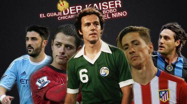 Inilah 5 pemain dengan julukan uniknya salah satunya adalah El Nino