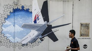 Ilustrasi Malaysian Airlines MH370 (Joshua Paul / AP PHOTO)