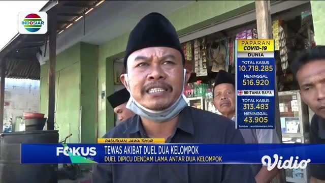 Setelah sempat dirawat di RSUD Bangil, Jawa Timur, salah seorang korban luka akibat perkelahian warga di Pasuruan, akhirnya meninggal dunia. Mereka yang menaruh dendam, memutuskan berkelahi menggunakan senjata tajam.