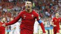 5. Cristiano Ronaldo - Penyerang Real Madrid (Portugal). (AP/Francisco Seco)