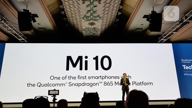 Co-Founder sekaligus Vice Chairman Xiaomi Corporation Xiaomi Lin Bin hadiri Qualcomm Snapdragon Tech Summit 2019. (Liputan6.com/ Agustin Setyo W)