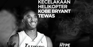 Kobe Bryant Meninggal dalam Kecelakaan Helikopter