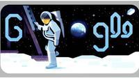Google Doodle Merayakan 50 Tahun Pendaratan di Bulan Hari Ini