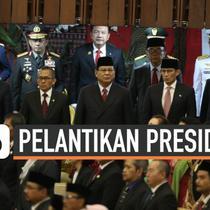 Sejumlah pejabat dan tokoh negara ikut menghadiri pelantikan Presiden dan Wakil Presiden RI 2019-2024. Diantaranya pasangan capres-cawapres Prabowo Subianto-Sandiaga Uno hingga Basuki Tjahaja Purnama.
