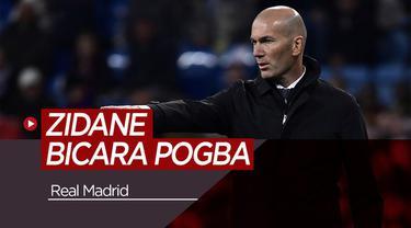 Berita Video Zidane Buka Suara Soal Transfer Pogba