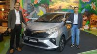 PT Astra Daihatsu Motor resmi meluncurkan model terbaru dari Daihatsu Sigra. (Arief / Liputan6.com)