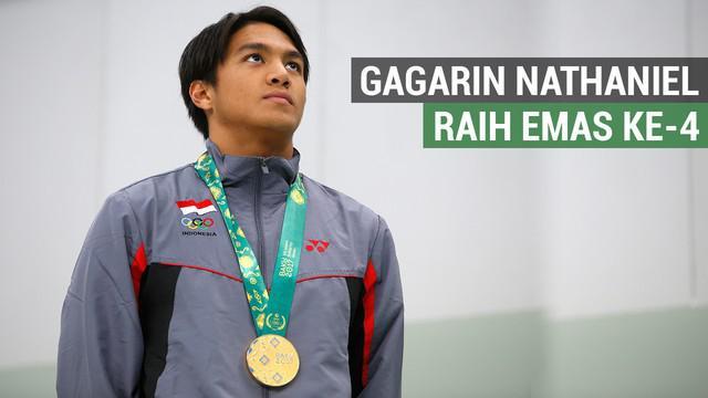 Berita Video tentang perenang nasional, Gagarin Nathaniel Yus yang mempersembahkan emas pertama di Islamic Solidarity Games 2017.