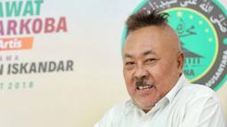 Sebagai sahabat, Kadir menjelaskan bahwa Gogon meninggal antara jam 5 atau setengah 5 pagi. (Adrian Putra/Bintang.com)