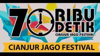 Event spektakuler 70 Ribu Detik Cianjur Jago Festival 2018 dirilis Sabtu (18/8) pagi. Rangkaian pestanya ditutup performa band Padi Reborn.